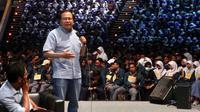 Rizal Ramli memberikan kuliah umum kepada lebih dari 4.000 mahasiswa Institut Teknologi Bandung (ITB).