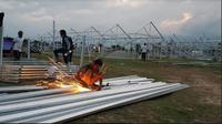 Kementerian BUMN siapkan rumah sementara bagi korban gempa di Sulteng (Foto; Dok Kementerian BUMN)