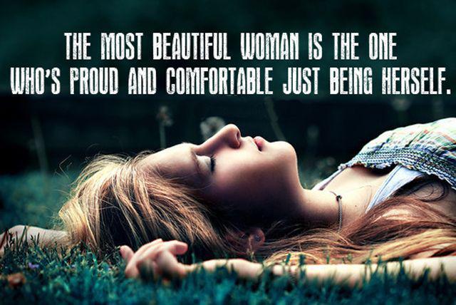 Setiap wanita cantik dengan caranya sendiri./Copyright bestsayingquotes.com