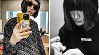 Chen Jie adalah seniman tato asal China. Foto: Instagram/@chenjie.newtattoo (kiri), Instagram/@newtattoo_studio (kanan).