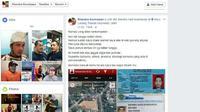 Anggota GP Ansor saat melaporkan akun FB milik Rhendra Kurniawan ke Polresta Sidoarjo. (Rudi Mulya/TIMES Indonesia)