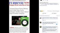 [Cek Fakta] Gambar Tangkapan Layar Berita Tentang Menag Lukman Hakim Saifuddin