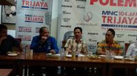 Diskusi yang bertajuk 'Colak Colek Caleg' di kawasan Cikini, Jakarta Pusat, Sabtu (21/7/2018). (Merdeka.com/Ahda Baihaqi)