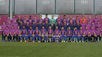 Skuat Barcelona musim 2016-2017. (doc. Barcelona)