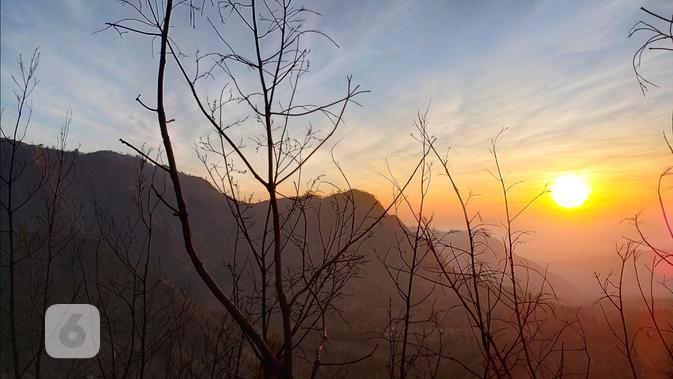 Hasil foto Oppo Reno2 dengan lensa normal pada objek pemandangan alam. Liputan6.com/Mochamad Wahyu Hidayat