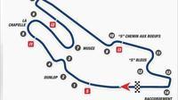 Layout Sirkuit Le Mans untuk MotoGP 2017. (automobilsport)