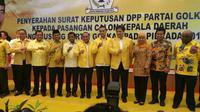 Partai Golkar mengumumkan calon yang diusung di Pilkada Serentak 2018 (Liputan6.com/ Nanda Perdana Putra)
