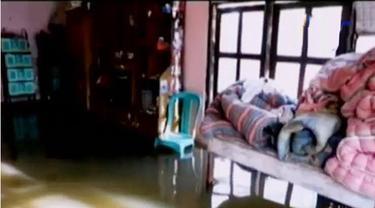 Sedikitnya, 207 rumah terendam di sejumlah dusun, terutama yang terletak di aliran sungai Citanduy.