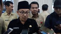 Sutiaji, Wali Kota Malang, menggagas dihapusnya calistung diganti pendidikan akhlak untuk siswa SD (Liputan6.com/Zainul Arifin)