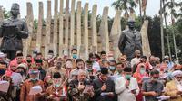 Deklarasi Koalisi Aksi Menyelamatkan Indonesia (KAMI) di Tugu Proklamasi, Jakarta. (Liputan6.com/Faizal Fanani)