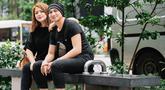 Wina Natalia menikah dengan pria yang bernama lengkap Erdian Aji Prihartanto atau akrab disapa Anji pada 13 Juli 2012 setelah bercerai dengan Wishnutama. (Sports Unisda.com/IG/@winatalia)