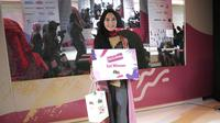 Afwa Zakia Al-Azkaf, juara pertama Muslimah Influencer Award (MIA) 2019. (Deki Prayoga/Dream.co.id)