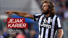 Berita video melihat sekilas jejak karier Andrea Pirlo di Juventus.