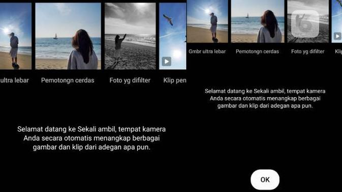 Fitur Single Take di kamera Samsung Galaxy S20 Plus. Liputan6.com/Iskandar