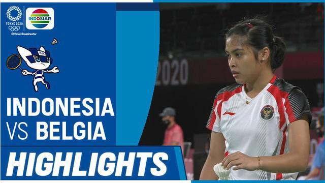 Berita video highlights kemenangan tunggal putri Indonesia, Gregoria Mariska Tunjung, pada laga terakhirnya di Grup M bulutangkis Olimpiade Tokyo 2020, Rabu (28/7/2021) pagi hari WIB.