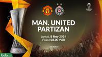 Liga Europa - Manchester United Vs Partizan (Bola.com/Adreanus Titus)
