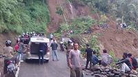 Lokasi longosr jalur Bandung - Cianjur (Liputan6.com/Achmad Sudarno)