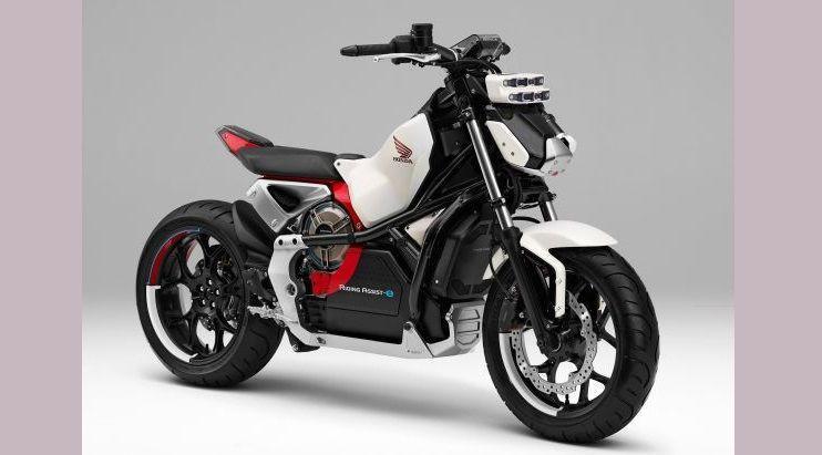 Honda Riding Asist-E bisa menyeimbangan diri sendiri. (Honda)