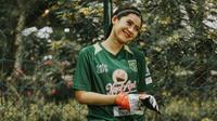 Penjaga gawang Persebaya Surabaya Putri, Nabila Ghassani. (Sumber: Instagram/@nabilagsani)