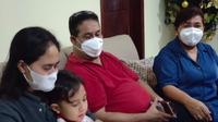 Keluarga penumpang Sriwijaya Air di Makassar, Ricko (32). (Foto: Liputan6.com/Fauzan)