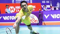 Tunggal putra Indonesia, Jonatan Christie, melaju ke semifinal Korea Terbuka 2018, Jumat (28/9/2018). (PBSI)