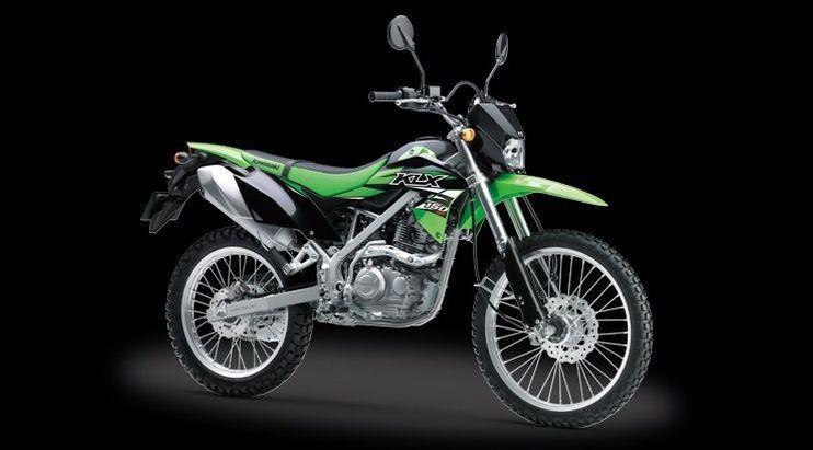 Kawasaki KLX 150BF. (KMI)