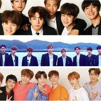 BTS, EXO, Wanna One (Soompi/ Instagram/ wannaone.official)