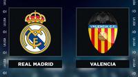 Liga Spanyol: Real Madrid Vs Valencia. (Bola.com/Dody Iryawan)