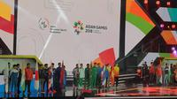 Eksibisi eSports Asian Games 2018. Liputan6.com/Yuslianson