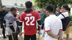 Menjadi Ketua Umum PSSI merupakan tujuan Vijaya Fitriyasa untuk bisa memajukan prestasi Timnas dan Liga Indonesia. (Bola.com/Vitalis Yogi Trisna)