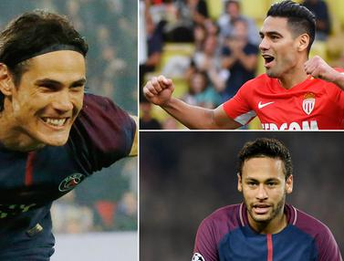 liga 1 Prancis, Top Scorer, Neymar Jr