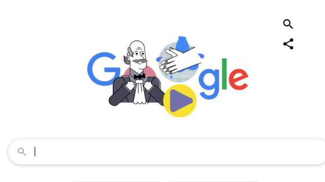 Google Doodle Tampilkan Ignaz Semmelweis