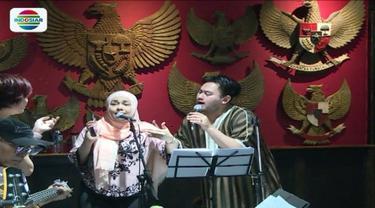 Tanpa Soimah, Nassar dan Iyeth Bustami latihan bersama di studio untuk persiapan Konser Raya 23 Tahun Indosiar.