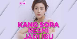 Kang Sora Resmi Jadi Ibu dari Bayi Perempuan
