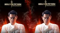 Chef Juna Hell's Kitchen Indonesia.