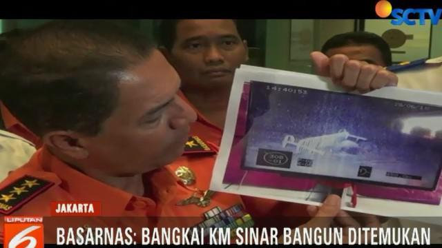 Temuan tersebut diperkuat Basarnas dengan ditunjukkannya bukti beberapa foto bangkai KM Sinar Bangun.