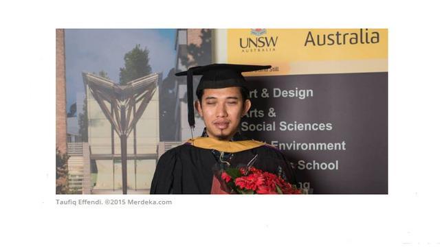 Kisah Taufiq Effendi, tuna netra raih beasiswa dari 8 negara