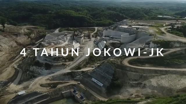 Pemerintahan Presiden Joko Widodo dan Wakil Presiden Jusuf Kalla telah genap berjalan empat tahun.