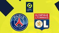Ligue 1 - PSG Vs Olympique Lyon (Bola.com/Adreanus Titus)
