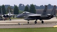 Jet tempur F-15 buatan Amerika Serikat (AP)