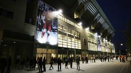 Stadion di negara Eropa Utara ini merupakan markas dari klub F.C. Copenhagen dan tim nasional sepak bola Denmark. (AFP/Daniel Sannum Lauten)