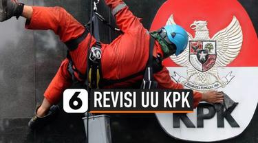 Revisi UU KPK disahkan menjadi UU nomor 19 tahun 2019 setelah dimasuukan ke dalam lembar negara. Saat ini, Sekretariat Negara sedang meneiiti salinannya sebelum dibagikan ke publik.