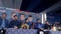 SBY menghadiri acara Demokrat Banten