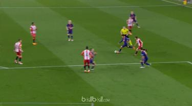 Philippe Coutinho mencetak gol pertamanya di La Liga dengan sebuah tembakan dari luar kotak penalti dan membantu Barcelona menang ...