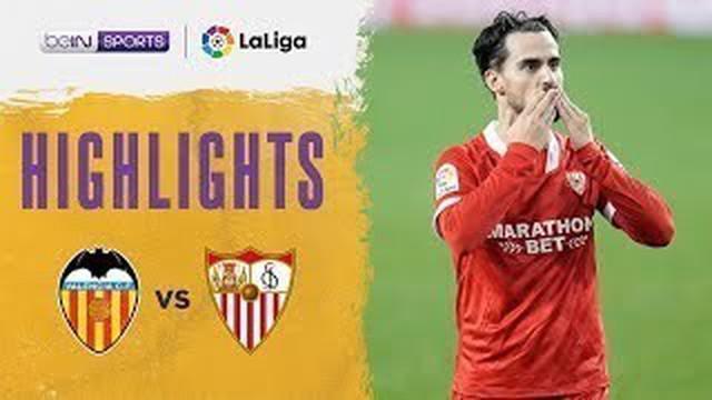 Berita video, Sevilla menang 1-0 atas Valencia di pekan ke-15 Liga Spanyol