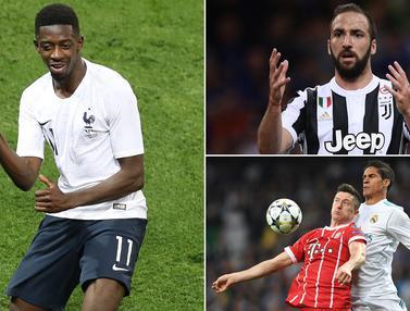 Kabar Transfer: Liverpool Incar Winger Barcelona, Higuain Menuju Milan