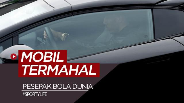 Berita video deretan mobil super mahal yang dimiliki pesepak bola dunia.