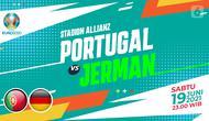 Portugal vs Jerman (liputan6.com/Abdillah)
