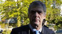 Kandidat Presiden UEFA, Angel Maria Villar. (AFP/Fabrice Coffrini)