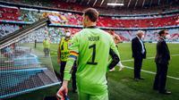 Kapten Jerman Manuel Neuer dengan ban kapten pelangi di Euro 2020 (Dok DFB)